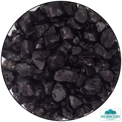 Glass Shards 4-10 mm black (400 g)