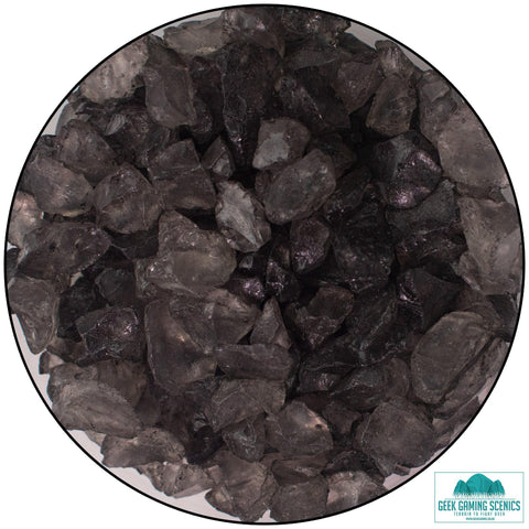 Glass Shards 4-10 mm dark gray (400 g)
