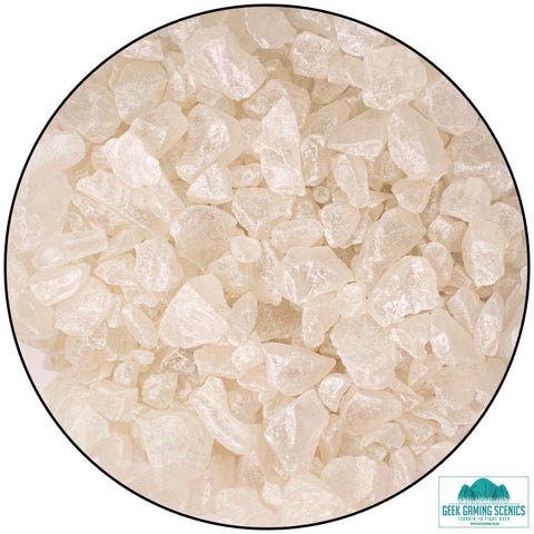 Glass Shards 4-10 mm Nacre / Pearl (400 g)