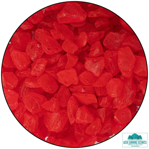 Glass Shards 4-10 mm red (400 g)