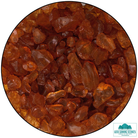 Glass Shards 4-10 mm terracotta (400 g)