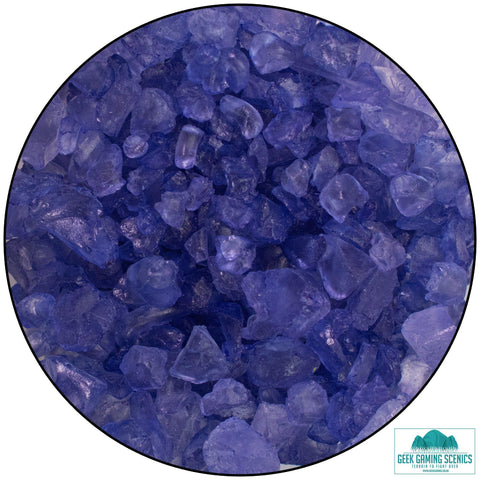 Glass Shards 4-10 mm violet (400 g)