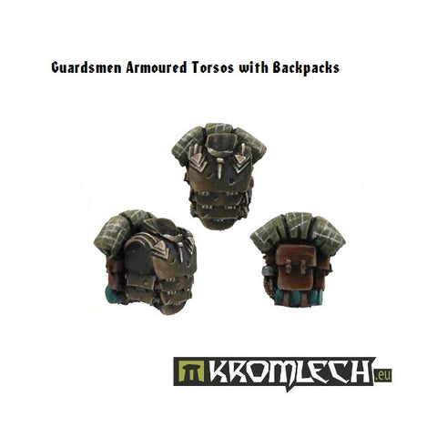 Armoured Torsos with Backpacks (5)