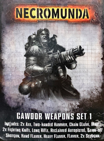 CAWDOR - Weapon Set 1