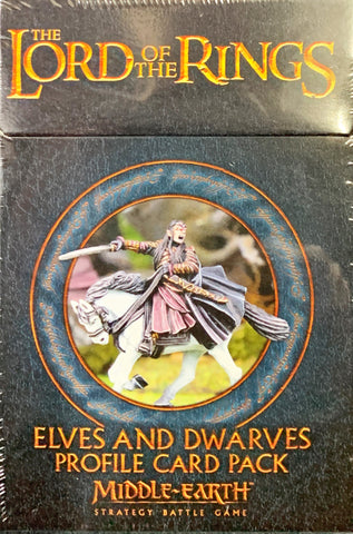 Elves and Dwarves Profile Card Pack