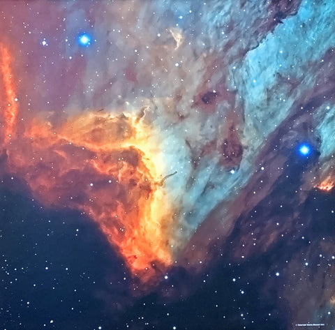 Custom Patriot Mat: PELICAN NEBULA 2 (3'x3')