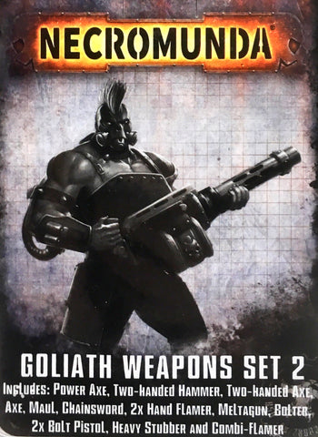 GOLIATH - Weapon Set 2