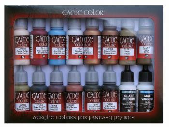 GAME COLOUR SET - Advanced Set (x16 Paints)