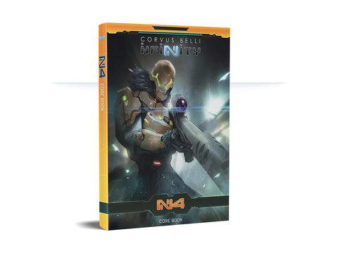Infinity N4 Rulebook with Exclusive Miniature