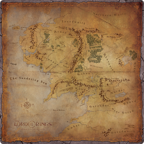 THE LORD OF THE RINGS: Journeys in Middle-earth Play mat