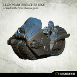LEGIONARY BREACHER BIKE: with twin plasma gun