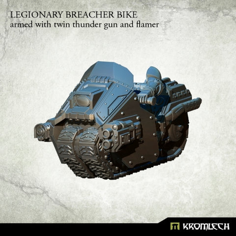 LEGIONARY BREACHER BIKE: with twin thunder gun and flamer