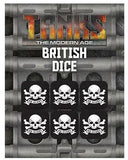 TANKS: The Modern Age Modern British Dice Set (6)