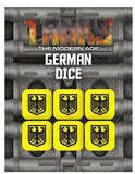 TANKS: The Modern Age Modern German Dice Set (6)