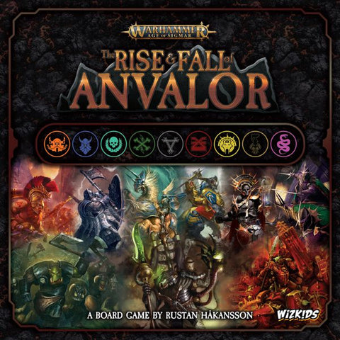 THE RISE & FALL OF ANVALOR - Warhammer Age of Sigmar Board Game