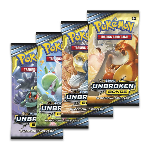 SUN AND MOON 10 Unbroken Bonds - Booster Pack
