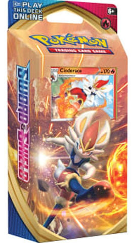 SWORD & SHIELD Theme Deck - CINDERACE / INTELION / RILLABOOM
