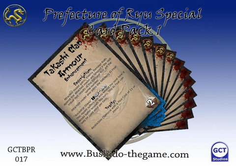 PREFECTURE OF RYU - Card Pack 1