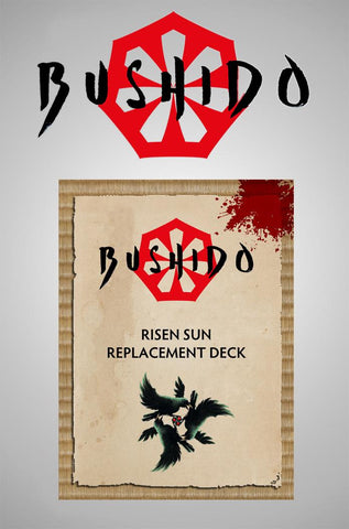 SHADOW WIND - Risen Sun Replacement Deck
