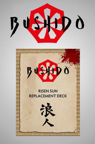 RONIN - Risen Sun Replacement Deck