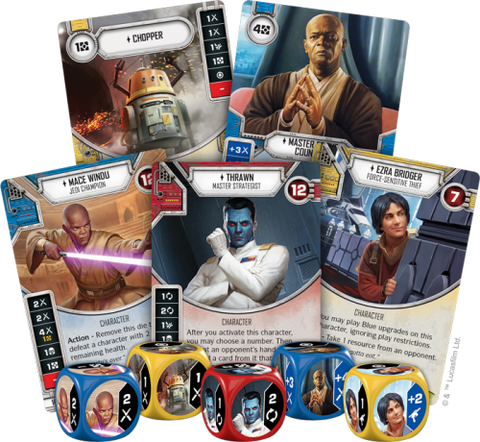 EMPIRE AT WAR - Star Wars Destiny Booster