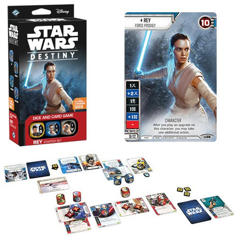 REY STARTER SET: Star Wars Destiny