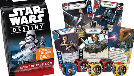 SPIRIT OF REBELLION - Star Wars Destiny Booster