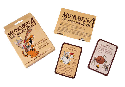 Munchkin 4: The Need for Steed