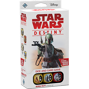 BOBA FETT STARTER SET: Star Wars Destiny