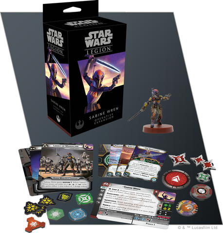 SABINE WREN Operative Expansion