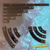 SPACE-WING Templates (Black)