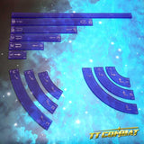 Space-Wing Templates (Frosted Purple)
