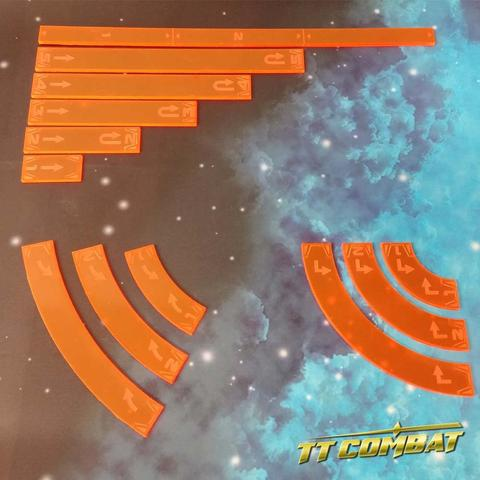 Space-Wing Templates (Lava Orange)