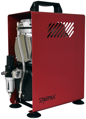 SPARMAX TC-610H Limited Edition RUST Compressor