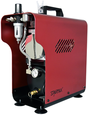 SPARMAX TC-620X Limited Edition RUST Compressor