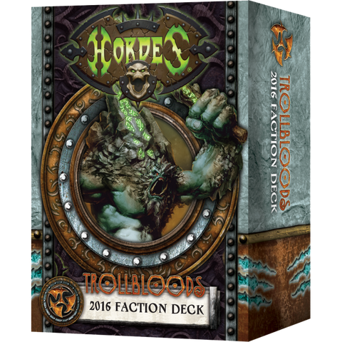 Trollblood 2016 Faction Deck