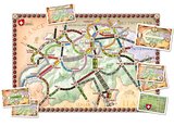 Ticket To Ride - INDIA Map Collection