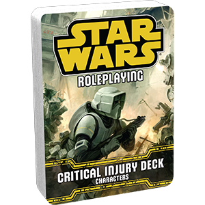 CRITICAL INJURY DECK - Star Wars Roleplaying