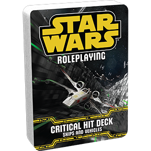 CRITICAL HIT DECK - Star Wars Roleplaying