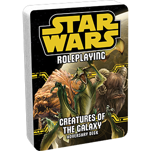 CREATURES OF THE GALAXY - Adversary Pack