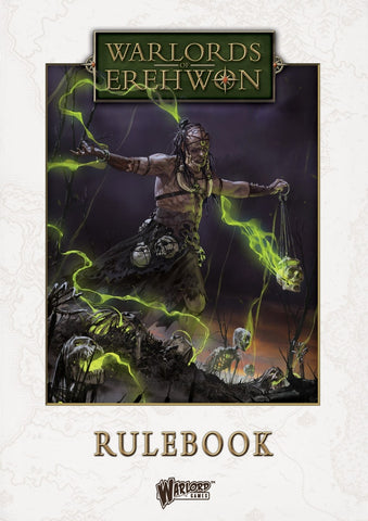 Warlords of Erehwon Rulebook (Hardback)