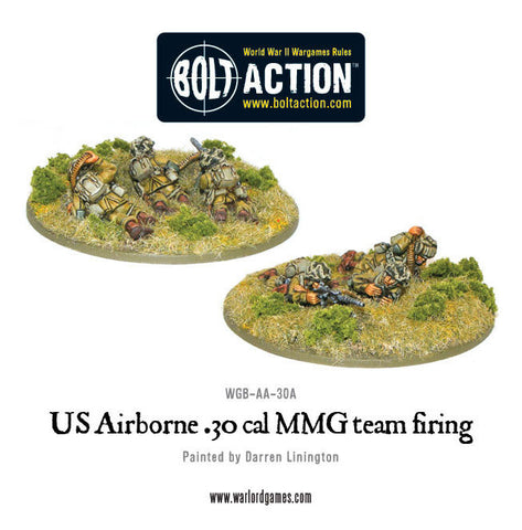 US Airborne 30cal teams (2 variants, random)