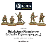 British Combat Engineers & Flamethrower Team