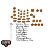 WILD WEST EXODUS Template and Token Set