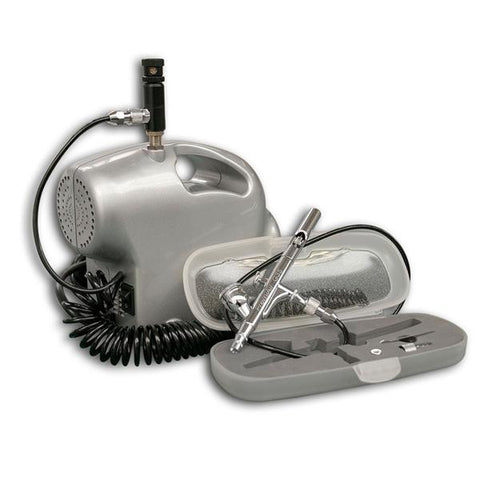 Budget Kit with Premi-Air Baby compressor and Sparmax SP-35C airbrush