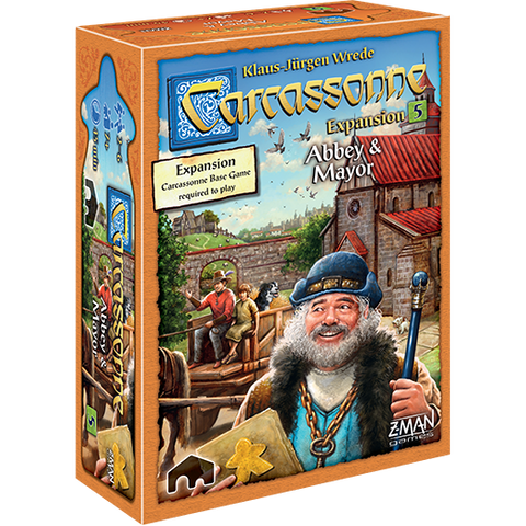 ABBEY & MAYOR: Carcassonne Exp 5