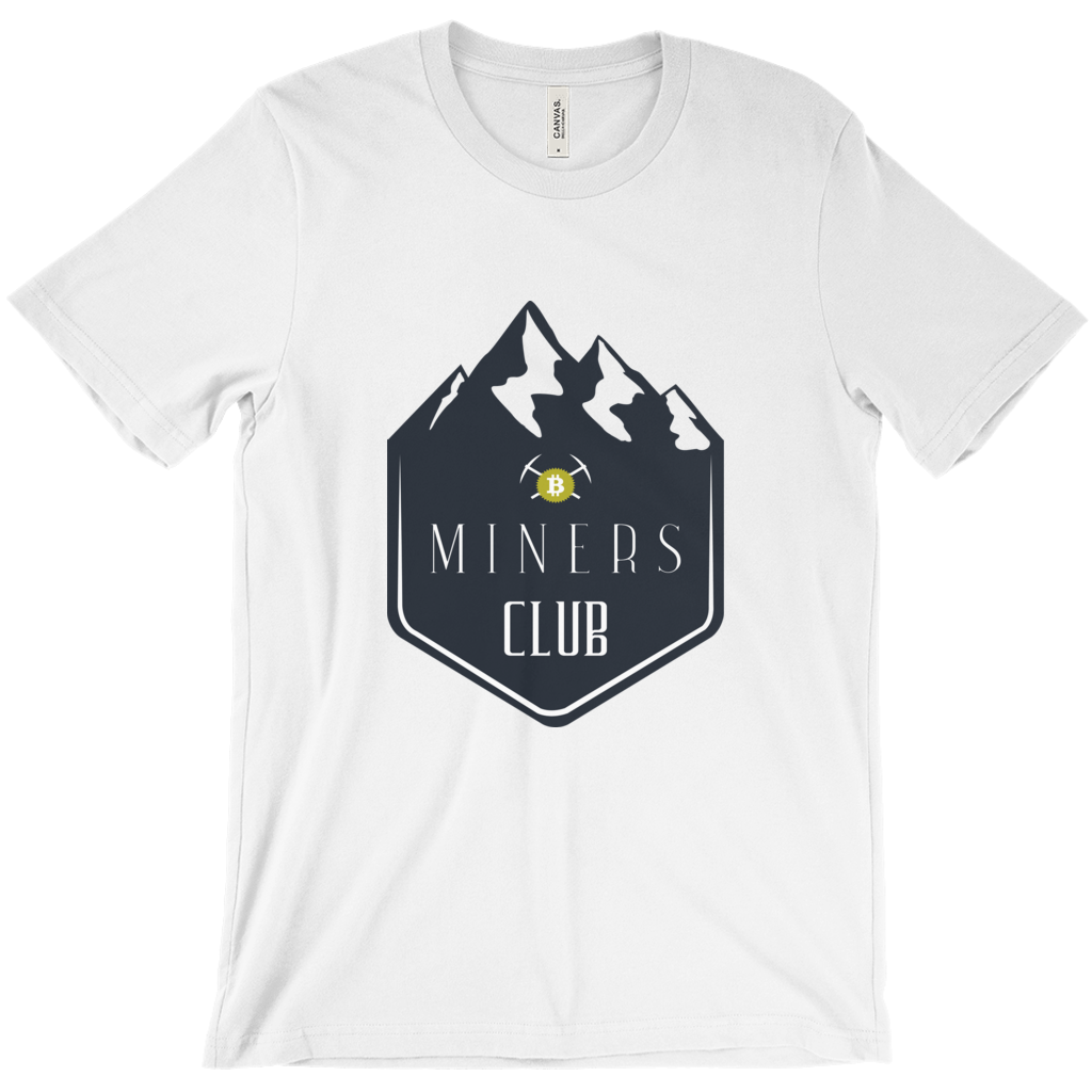 Crypto Miner's Club T-Shirt - White