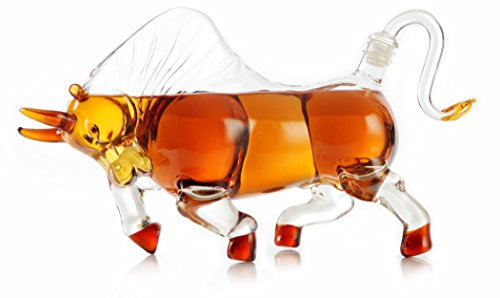 Bull Liquor Decanter - 1000ml