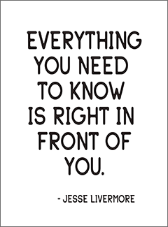 Everything You Need to Know is Right in Front of You Journal