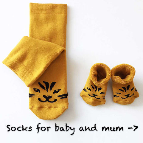 Hektik Socks for Mom and Baby #Gift #Geboortekado